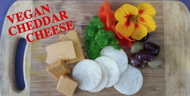 how to make vegan cheddar cheese